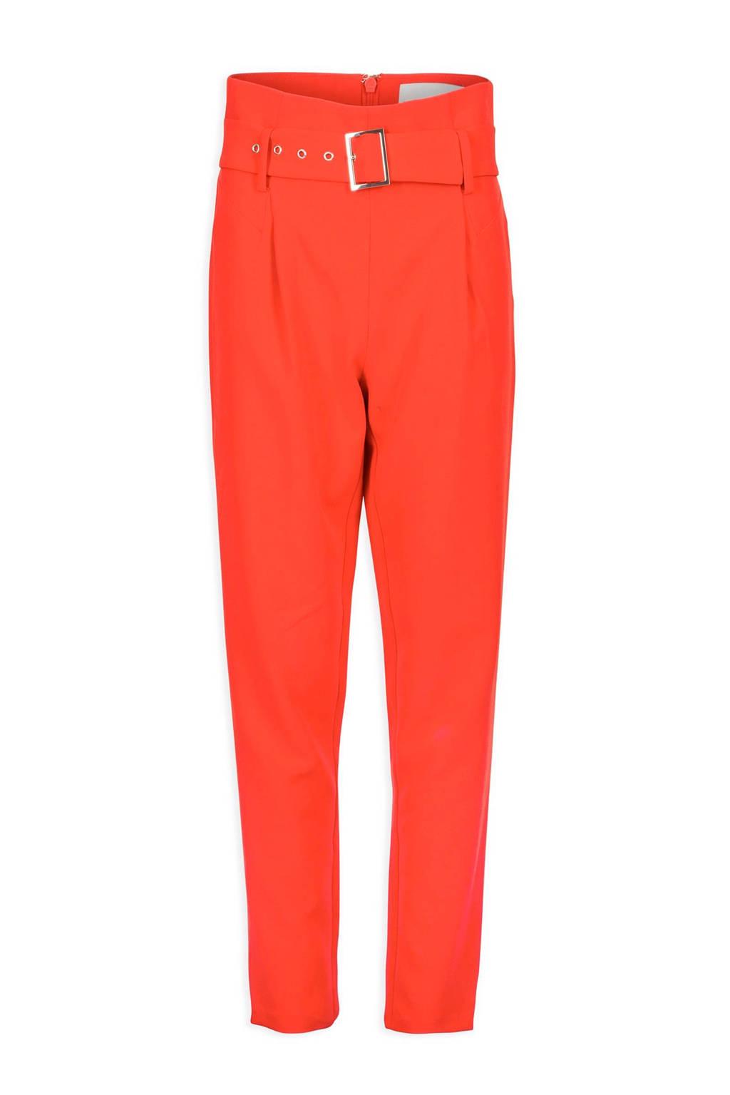 Morgan Georgia May Jagger cropped broek oranje, Oranje