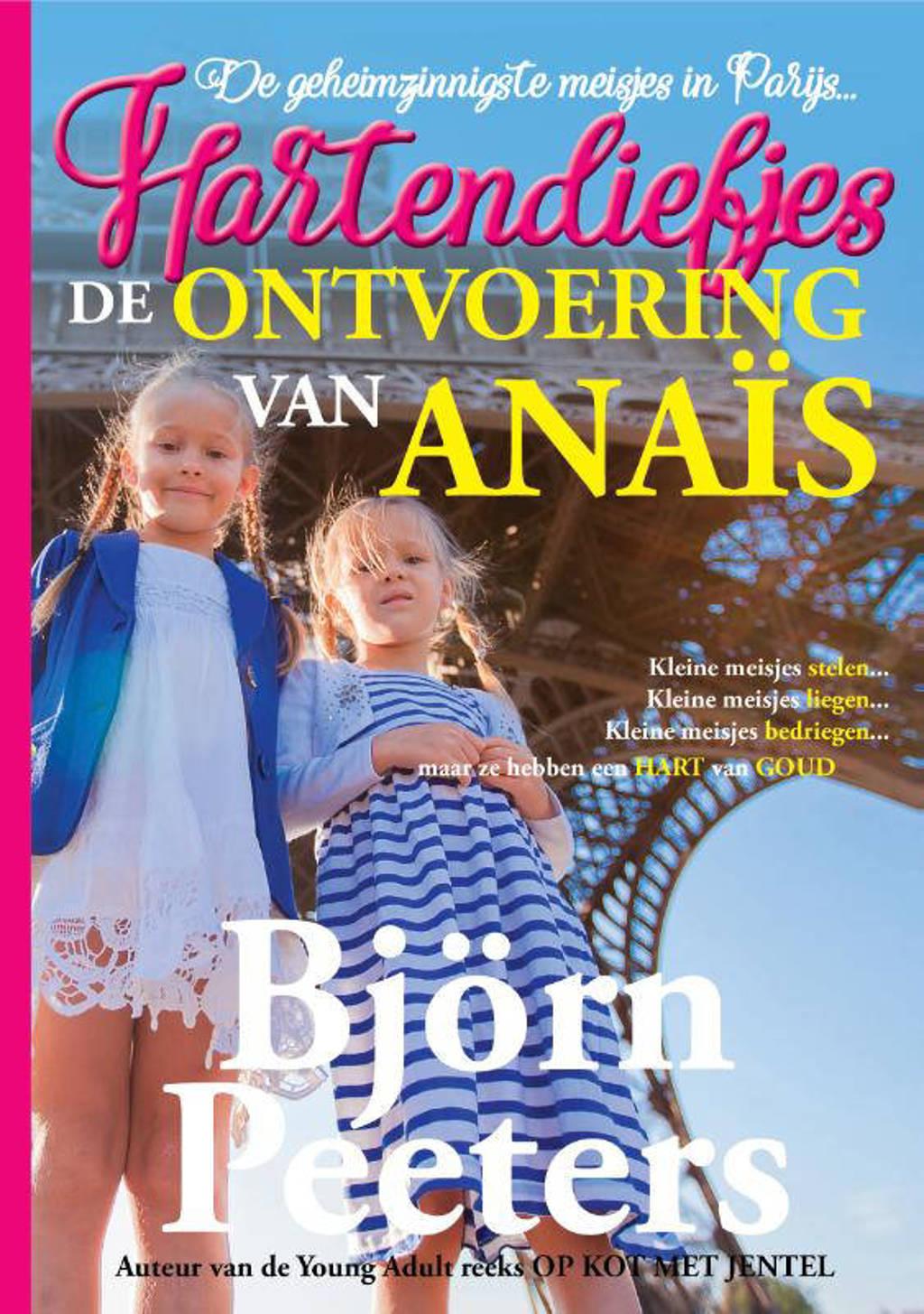 Hartendiefjes: De ontvoering van Anaïs - Björn Peeters