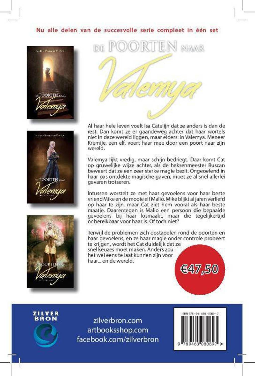 Valemya: De poorten naar Valemya trilogie - Ingrid Hageman en Cocky van Dijk
