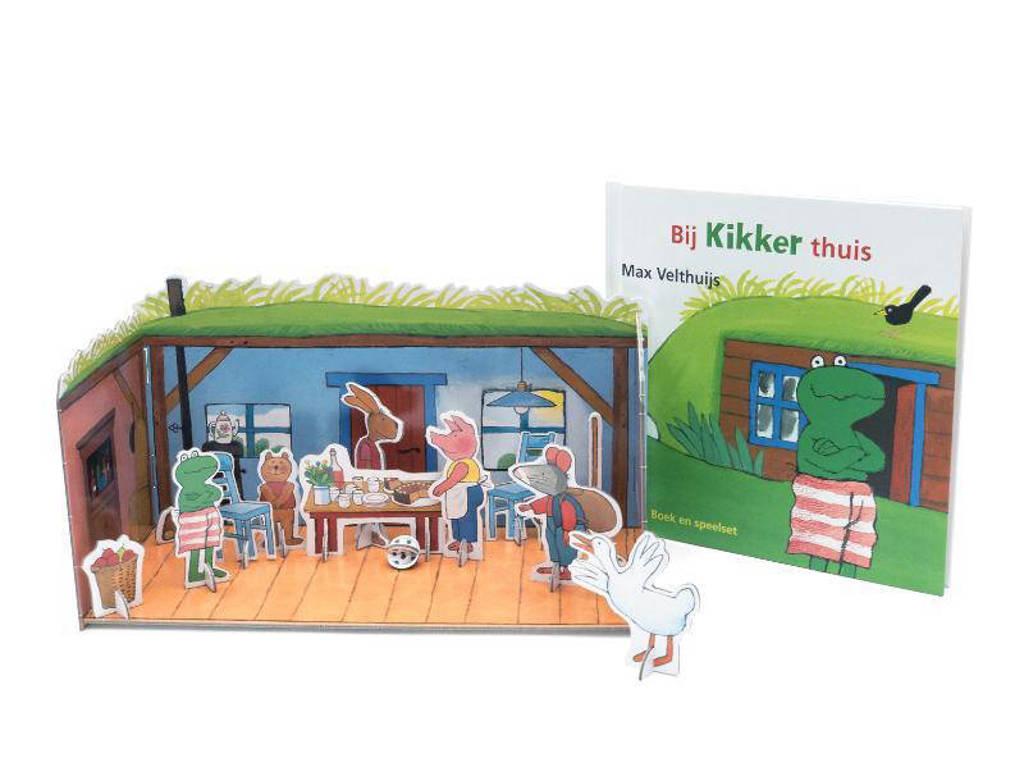 Bij Kikker thuis - Max Velthuijs