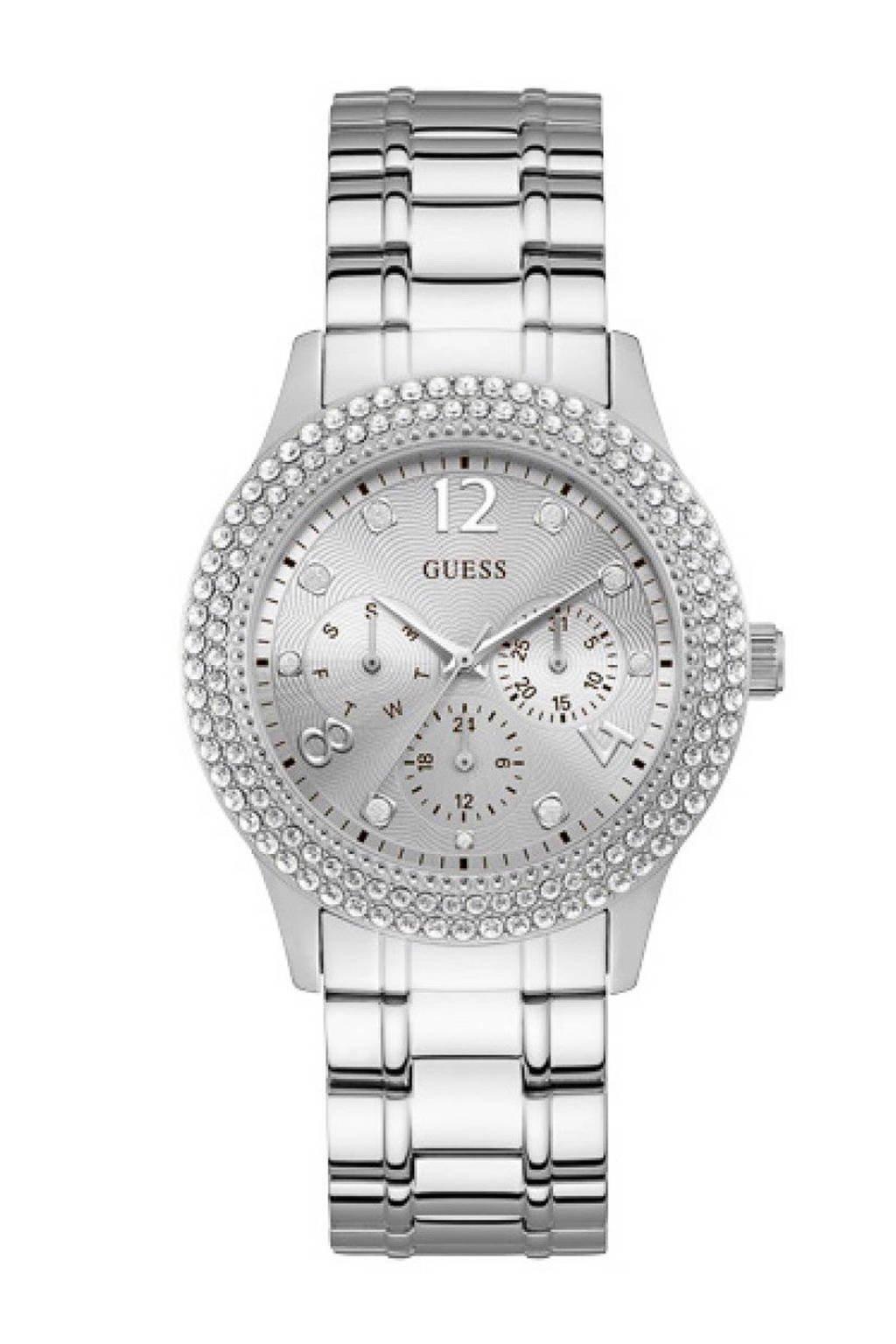 GUESS horloge - W1097L1, Zilver