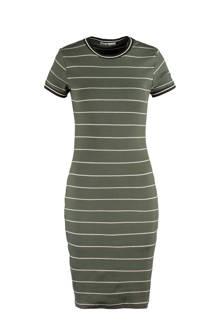 gestreepte jurk Dibby groen