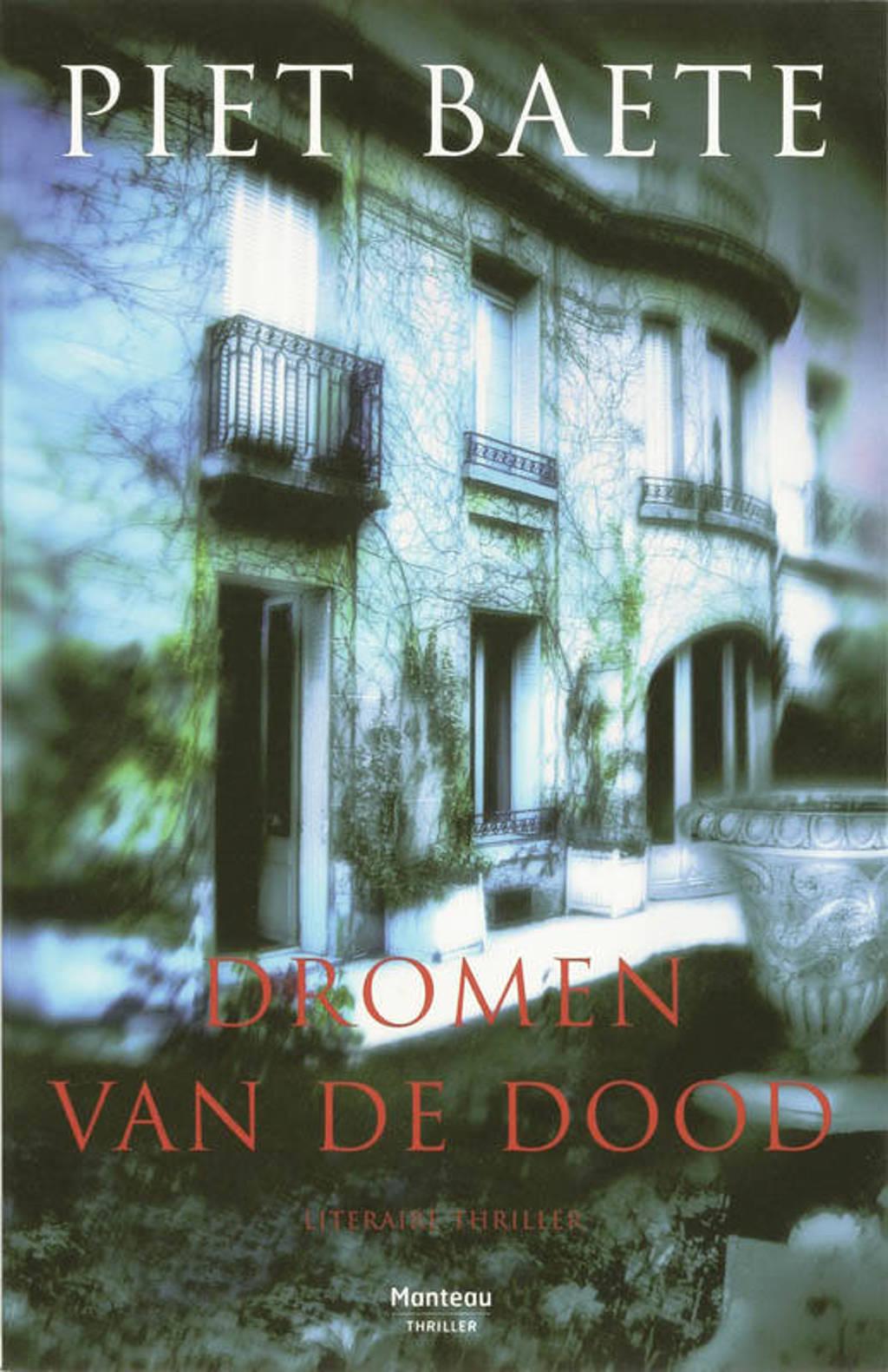 Dromen van de dood - Piet Baete