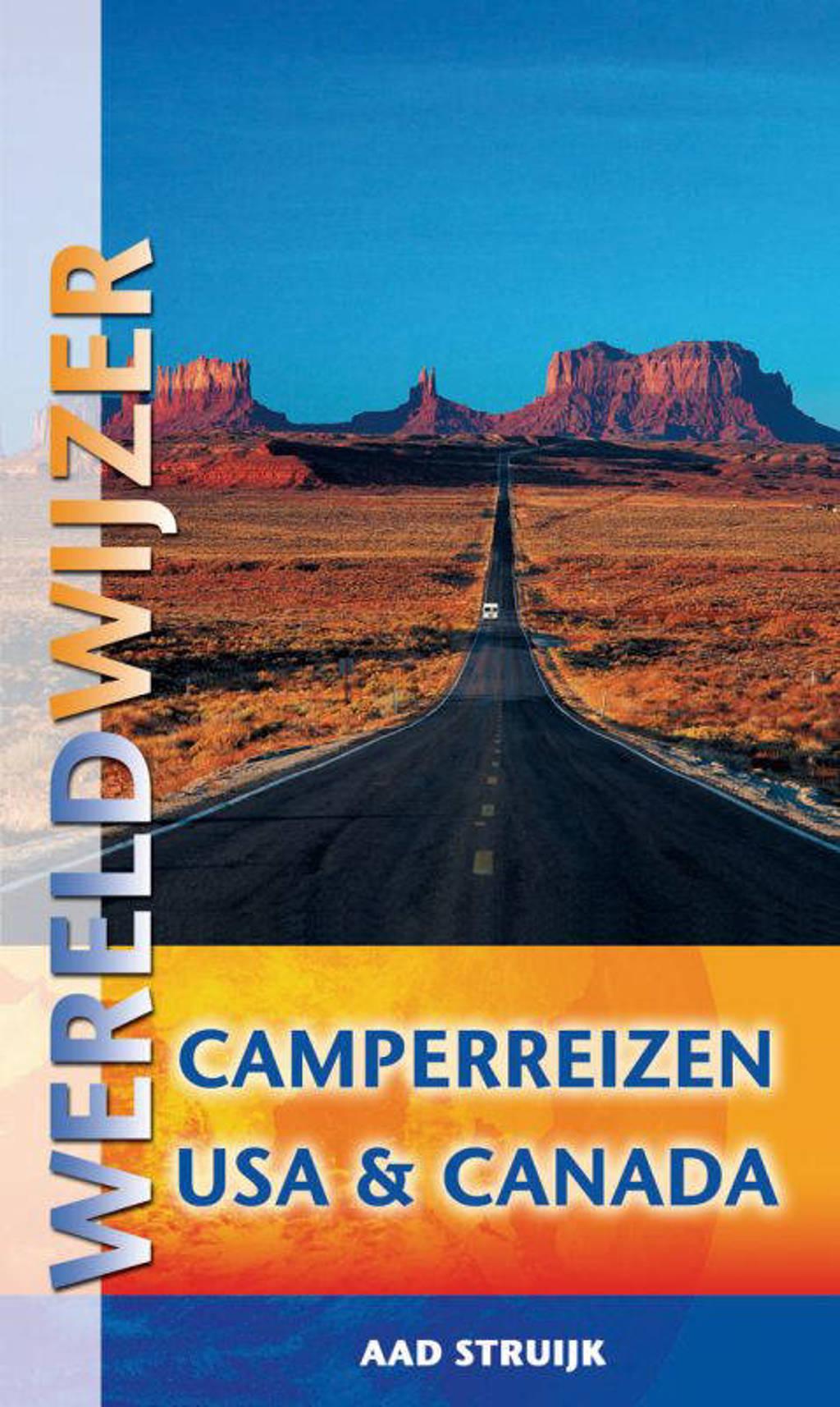 Wereldwijzer Camperreizen reisgids USA & Canada - A. Struijk