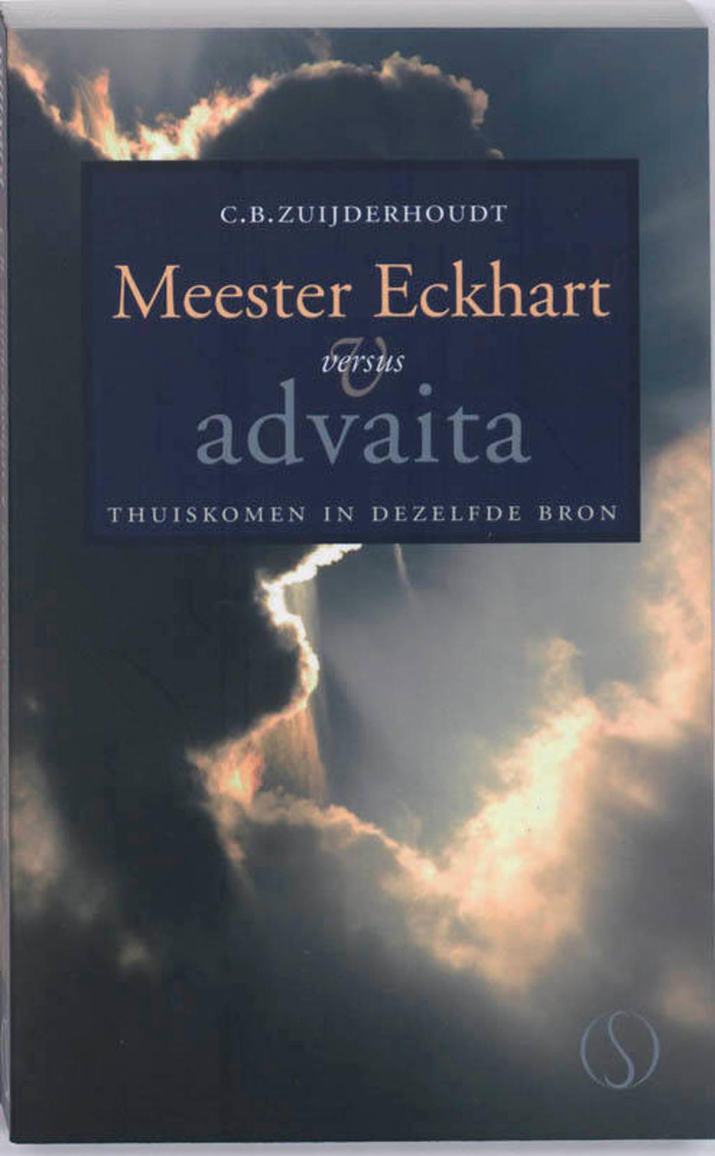 Meester Eckhart versus advaita - C. Zuijderhoudt
