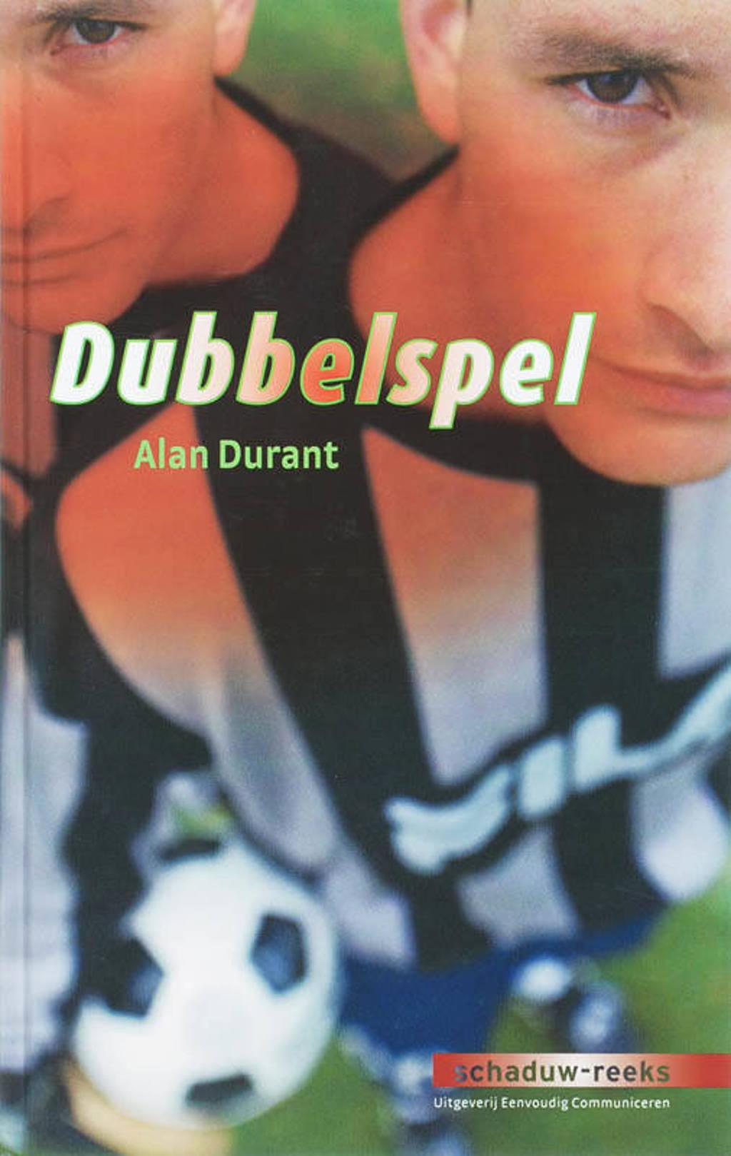 Schaduw-reeks: Dubbelspel - A. Durant