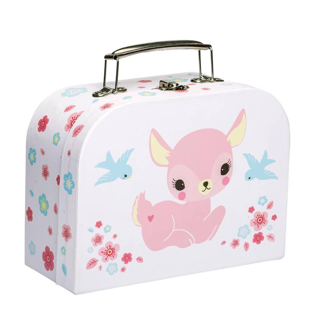 A Little Lovely Company koffertje Hert