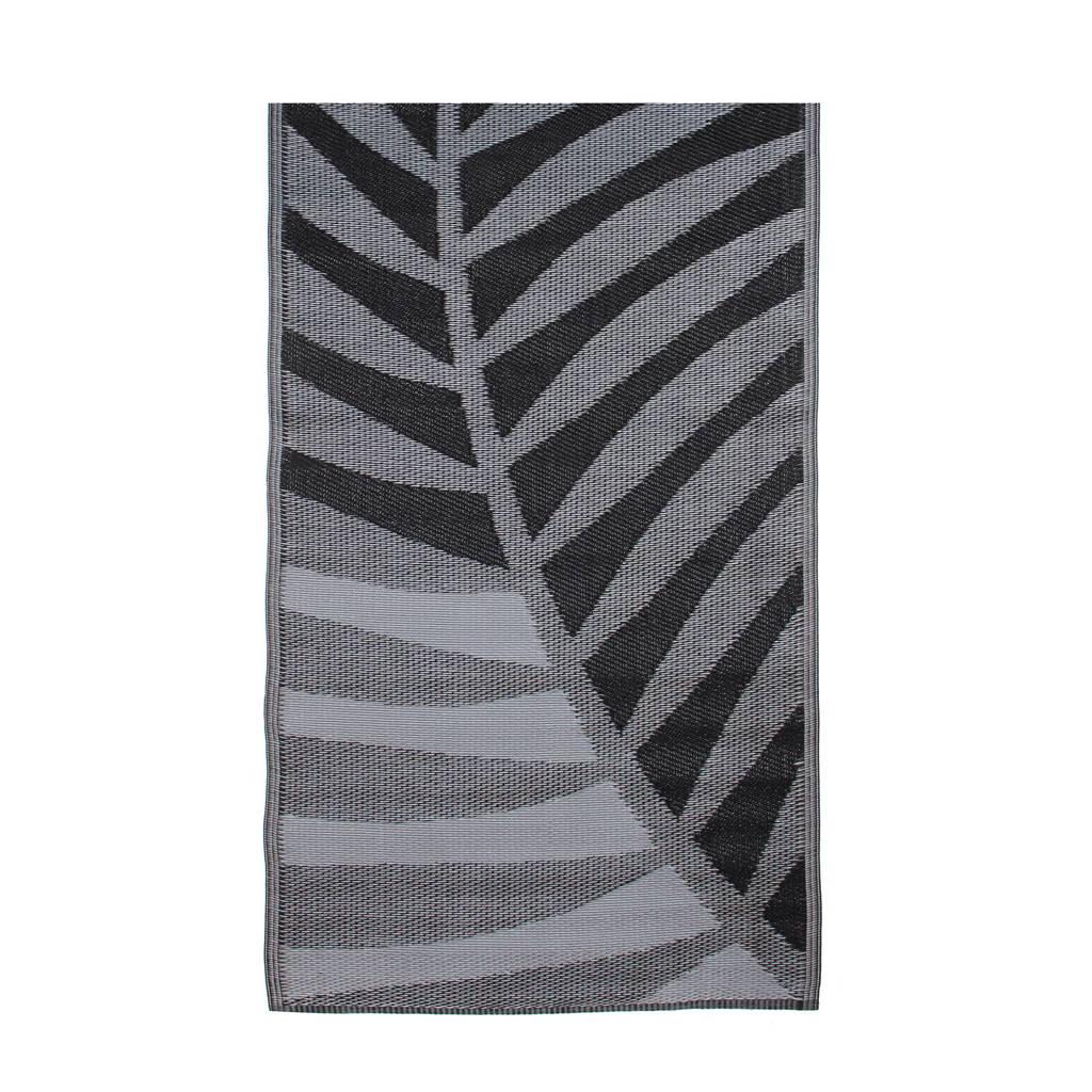 House of Seasons buitenkleed (180x90 cm)  (180x90 cm cm), Zwart/grijs