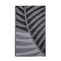 House of Seasons buitenkleed (180x90 cm), Zwart/grijs