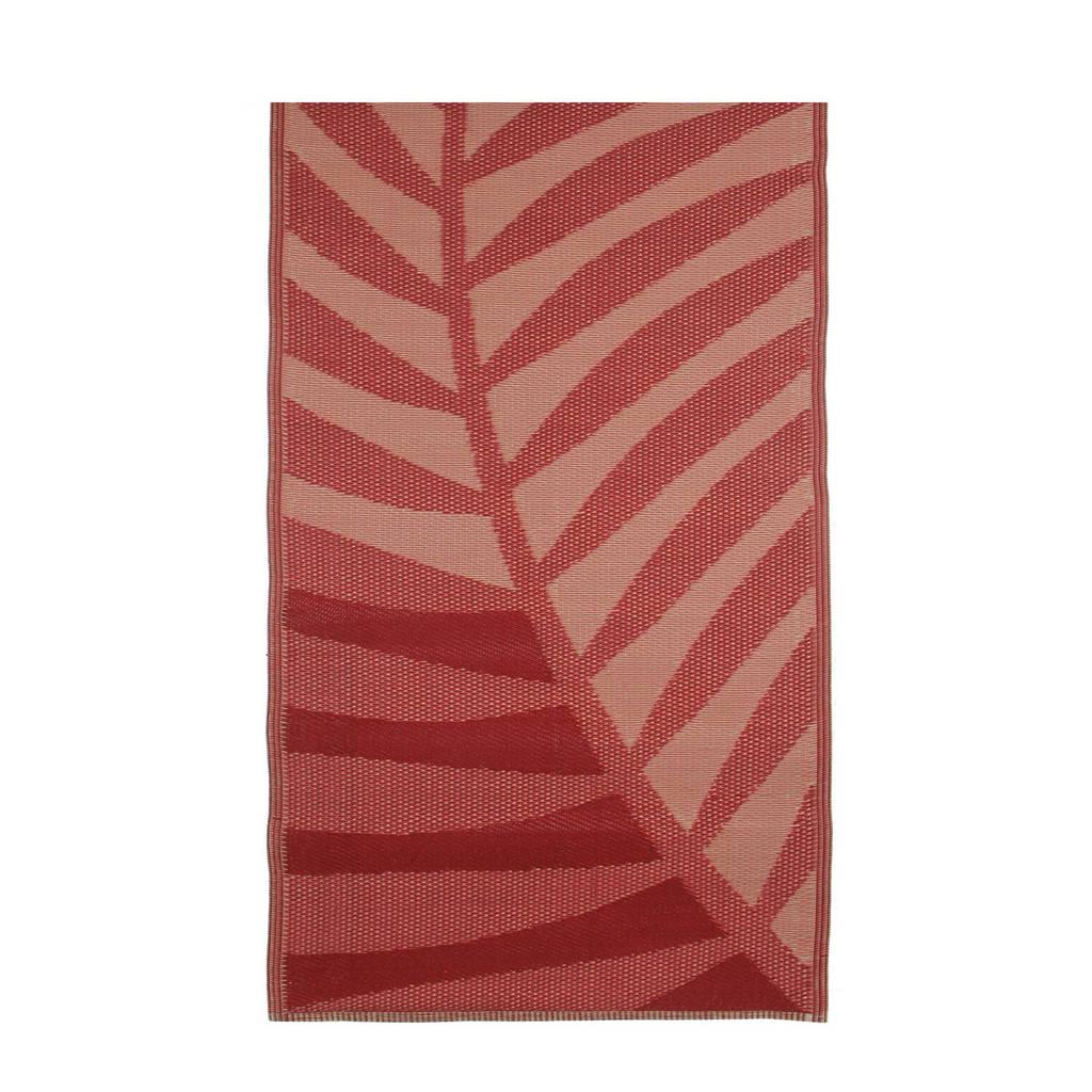 House of Seasons buitenkleed (180x90 cm), Rood/roze
