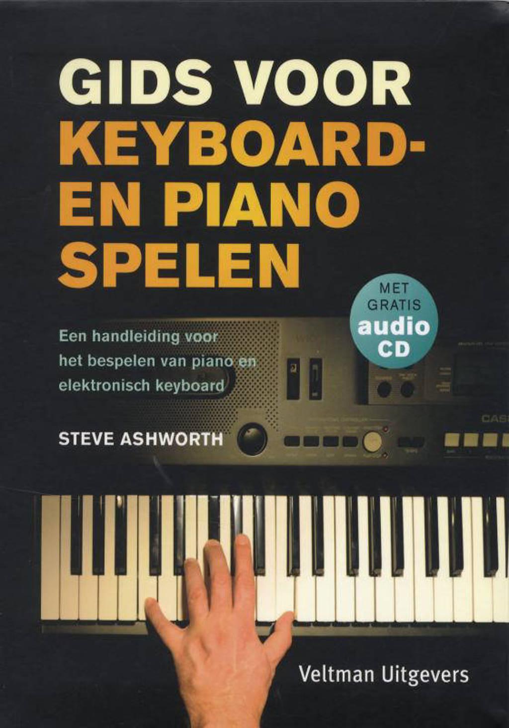 Gids voor keyboard- en pianospelen - Steve Ashworth