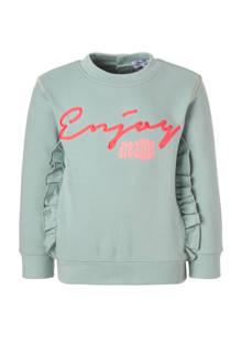 baby sweater met tekstopdruk