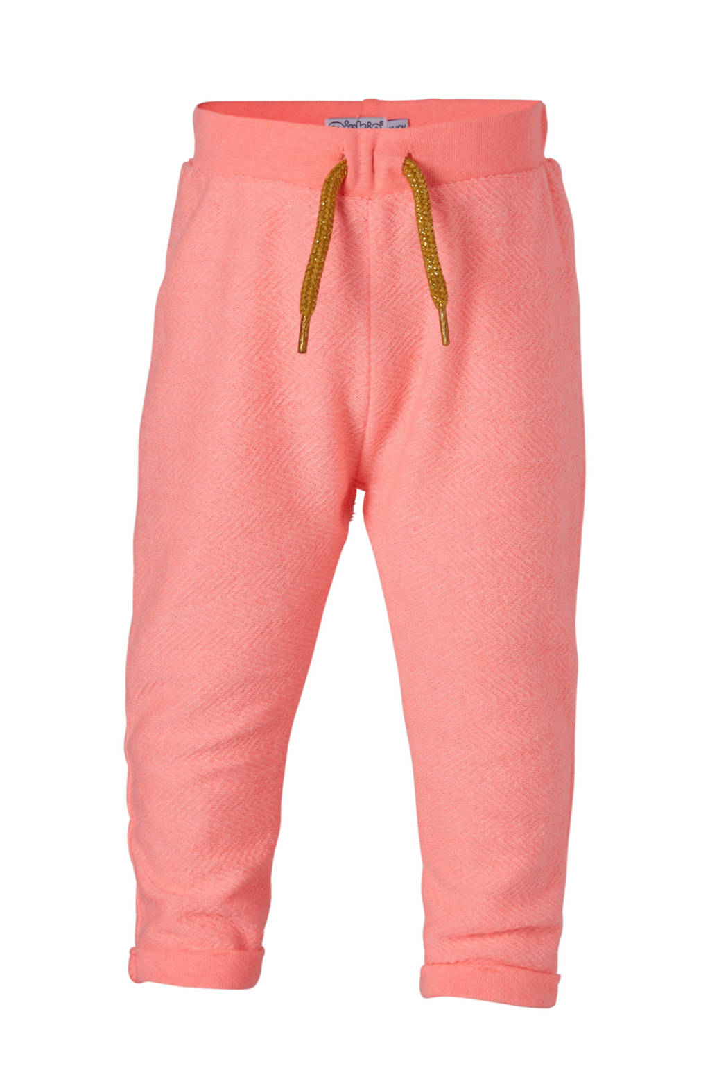 Dirkje sweatpants roze, Neon roze