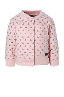 baby vest met print roze