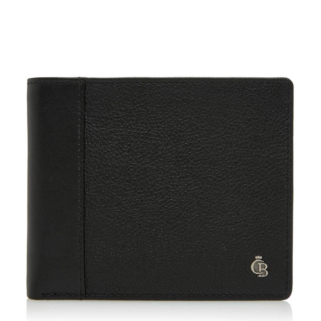 Castelijn & Beerens Vivo RFID leren portemonnee (8 pasjes), Zwart
