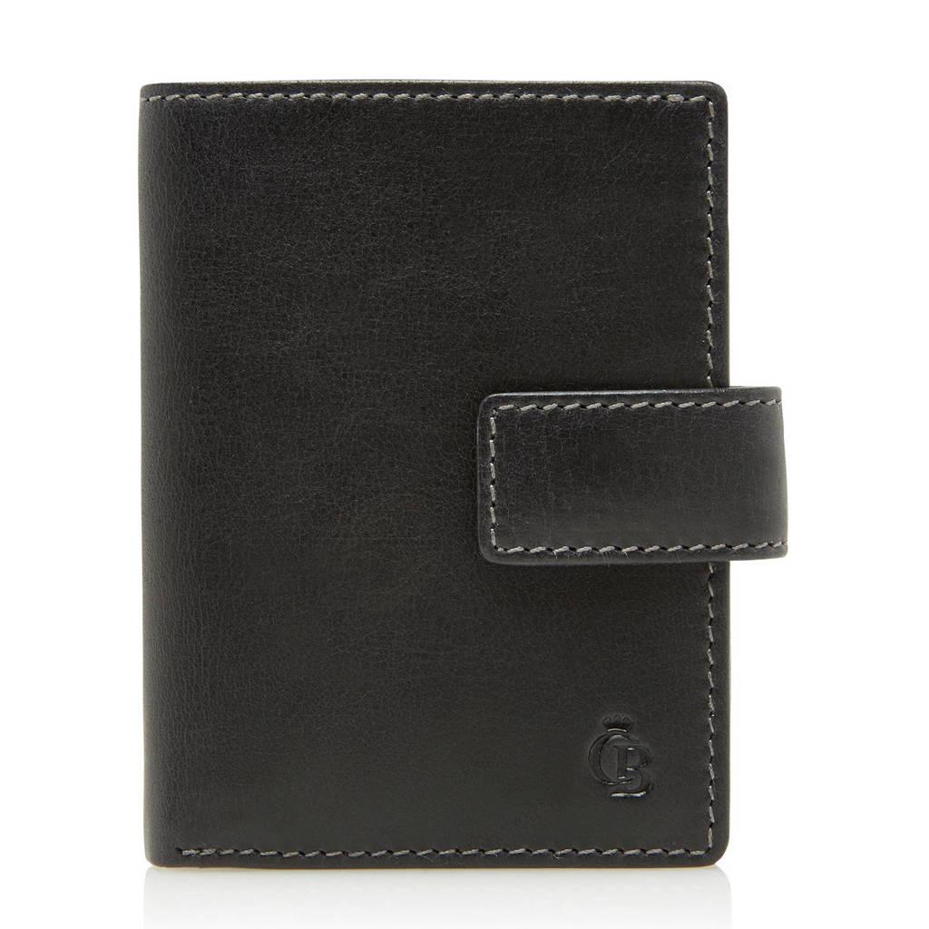 Castelijn & Beerens Canyon RFID leren portemonnee (10 pasjes), Zwart