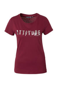 Only Play / sport T-shirt bordeaux