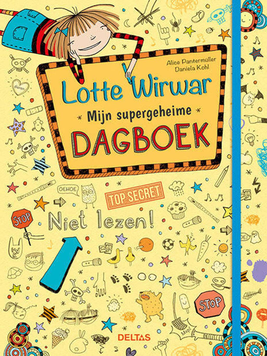 Lotte Wirwar: Mijn supergeheime dagboek - Alice Pantermüller