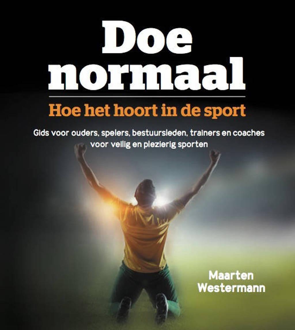 Doe normaal - Maarten Westermann