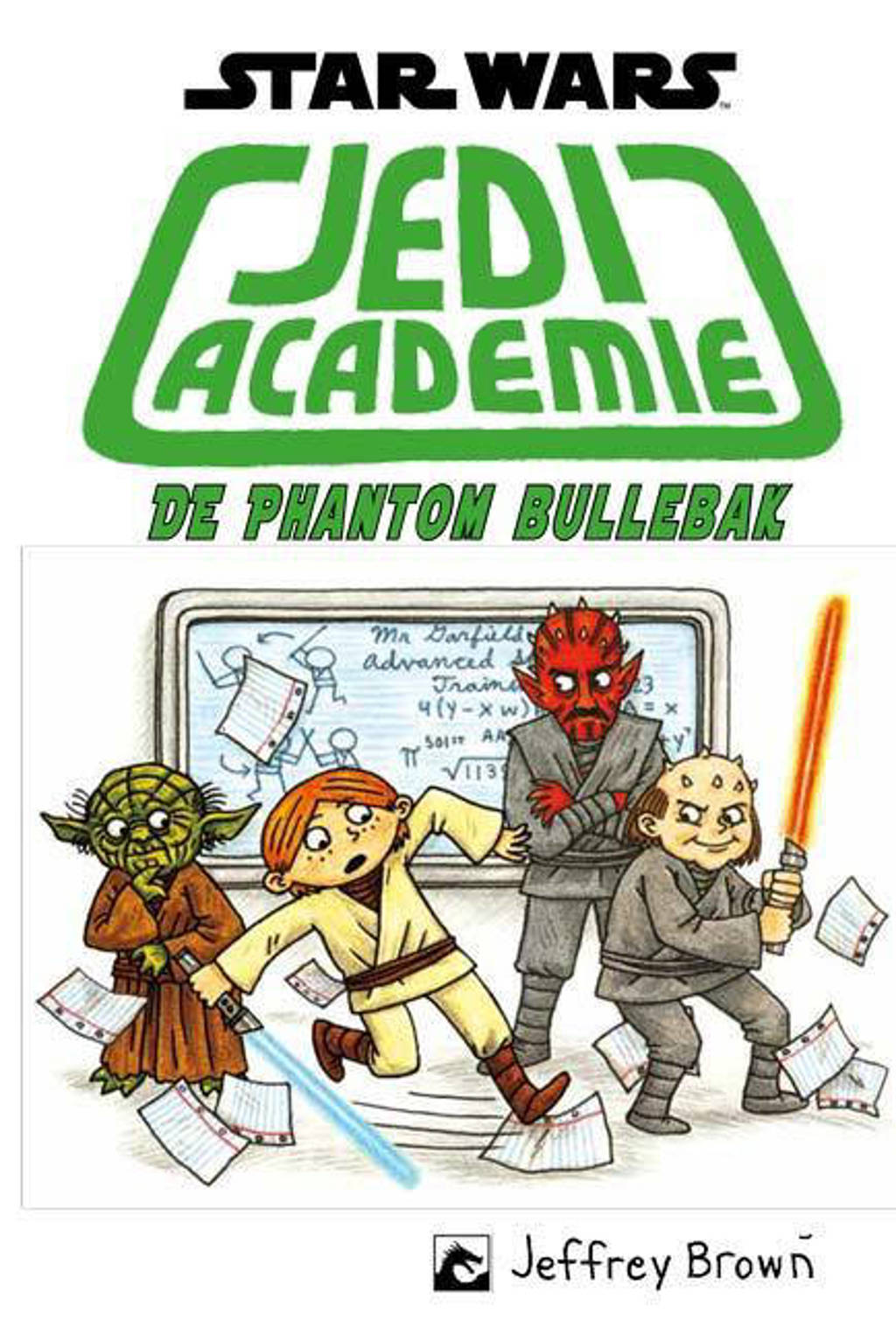 Star Wars: Jedi Academie 3 de phantom bullebak - Jeffrey Brown