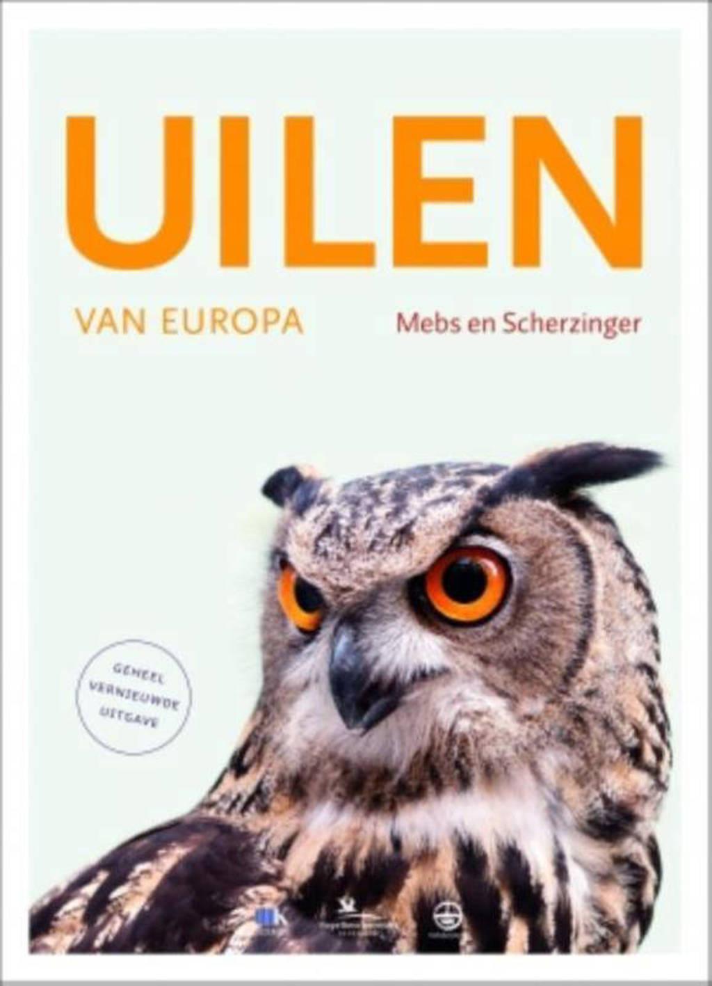Uilen van Europa - Theodor Mebs en Wolfgang Scherzinger