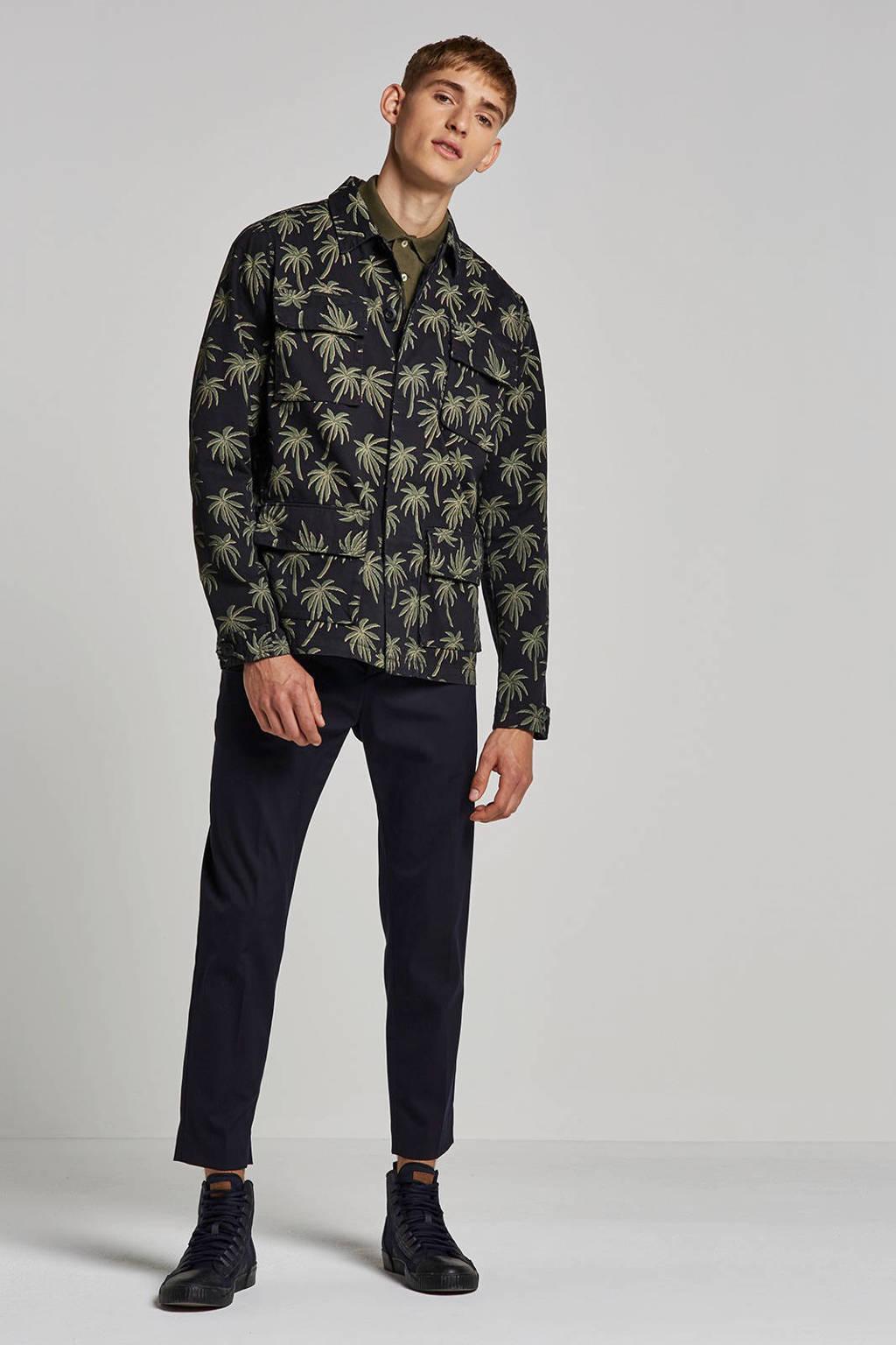 Kultivate jas, Zwart/groen
