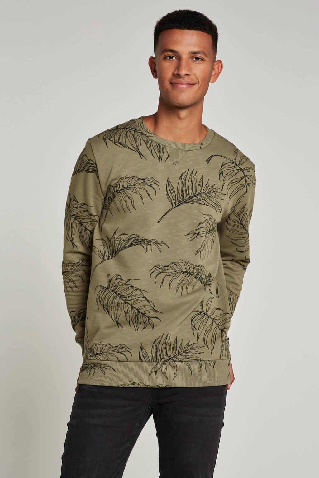 Kultivate Branch sweater, Groen