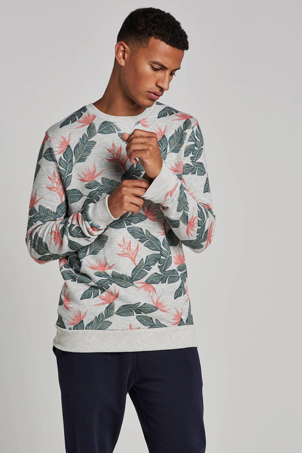 Kultivate African jungle sweater, Grijs