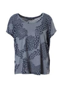 Only Play / sport T-shirt grijsblauw