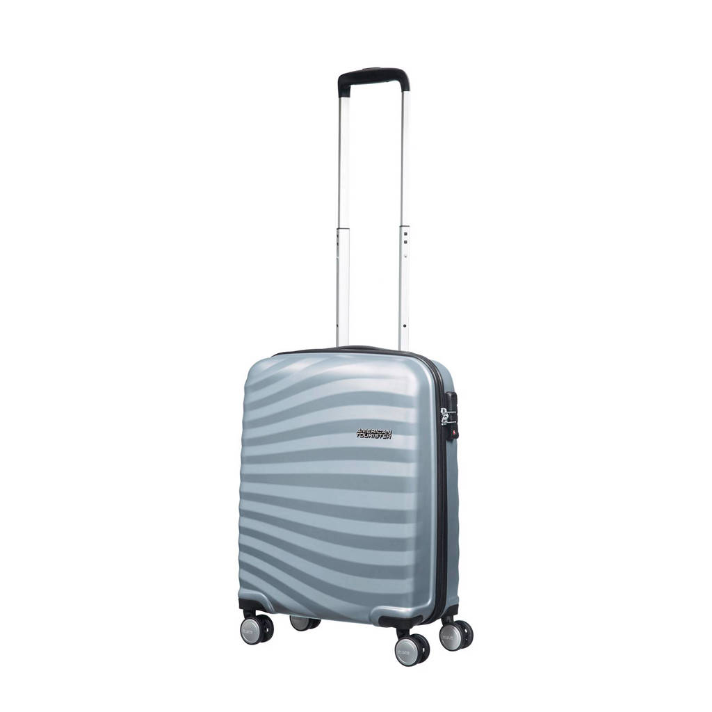 American Tourister Oceanfront koffer (55 cm), 55x40x20, Sky Silver