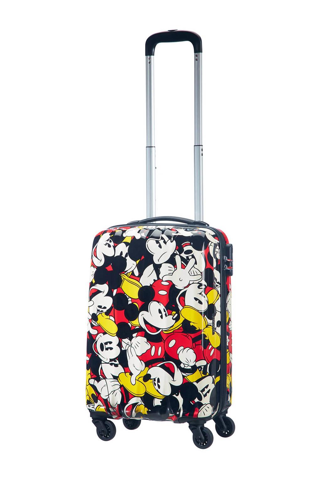 American Tourister Disney Legends koffer (55 cm), Zwart/rood/wit/geel