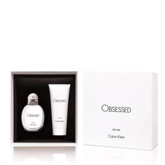 Obsessed for Men geschenkset  Obsessed for Men edt 75 ml + bodywash 100 ml