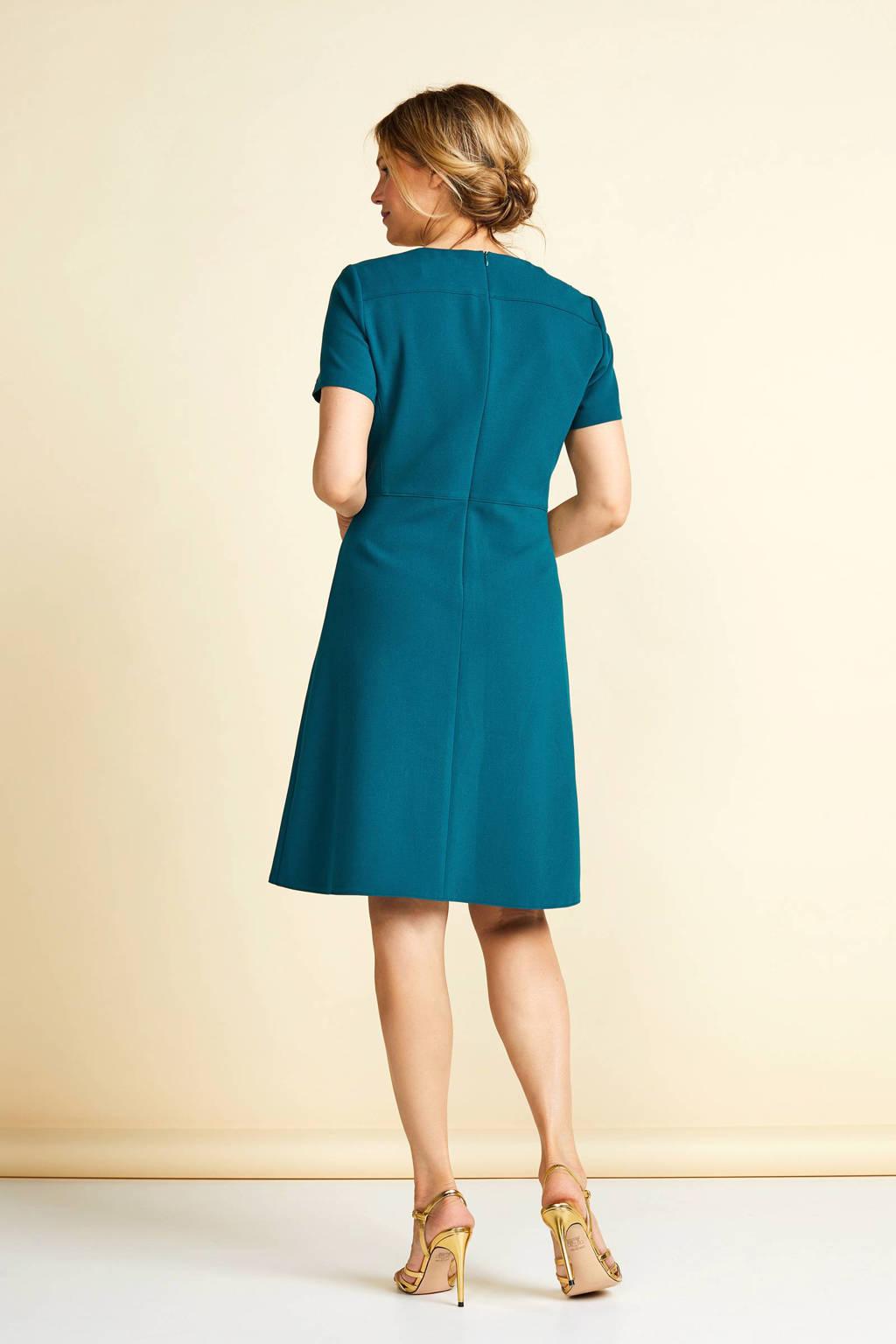 PROMISS jurk a-lijn, Groen