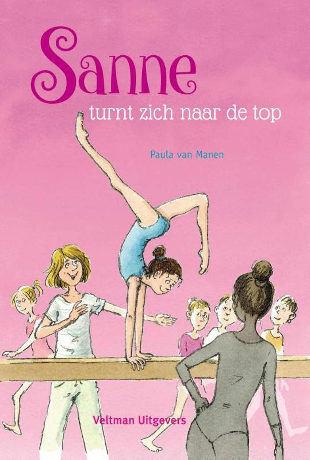 Sanne turnt zich naar de top - Paula van Manen