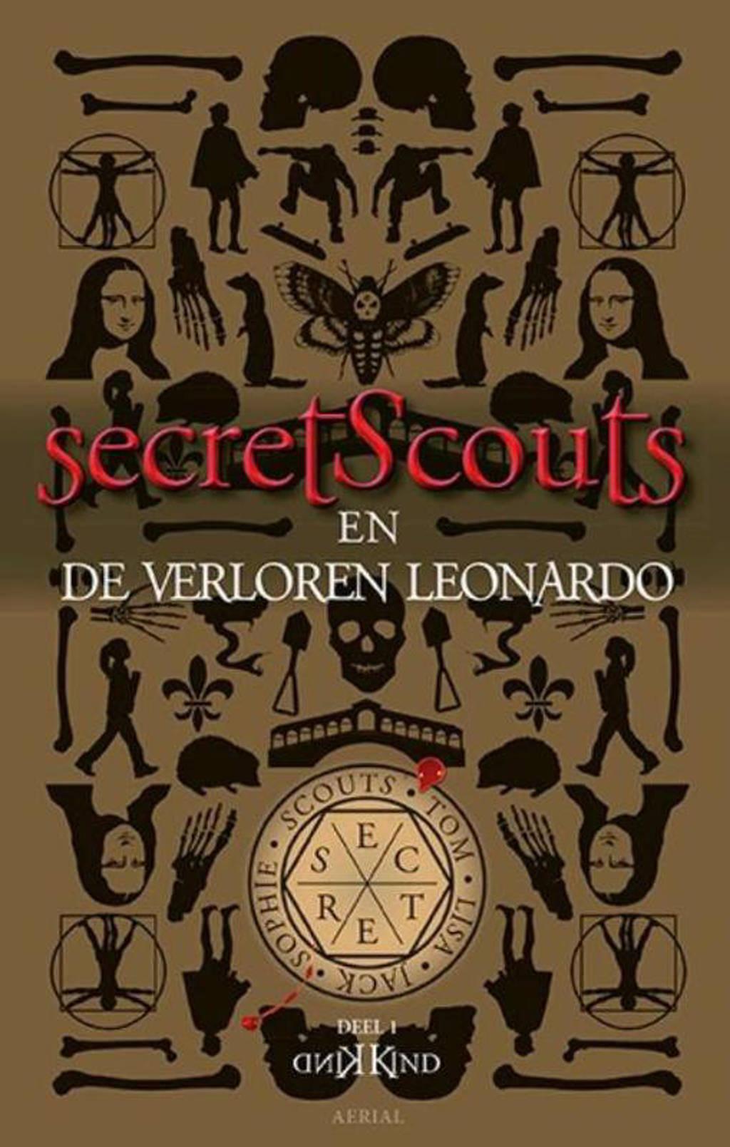 Secret Scouts-serie: Secret Scouts en De Verloren Leonardo - Kind Kind