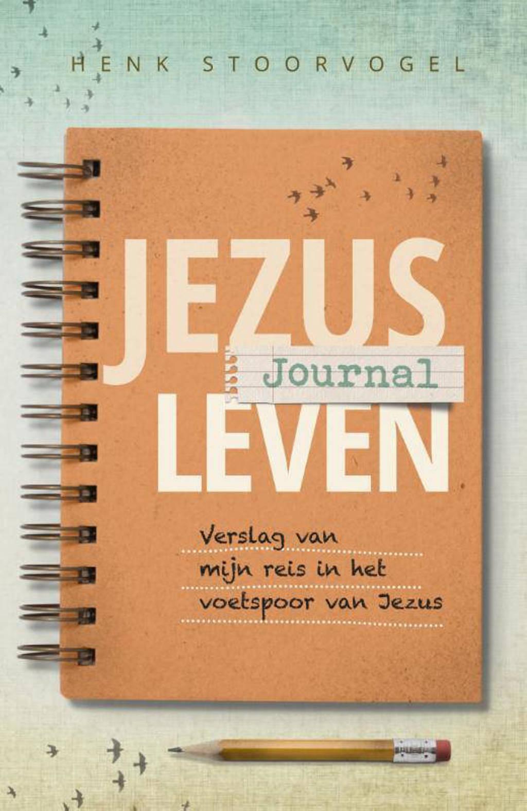 Jezus leven journal - Henk Stoorvogel