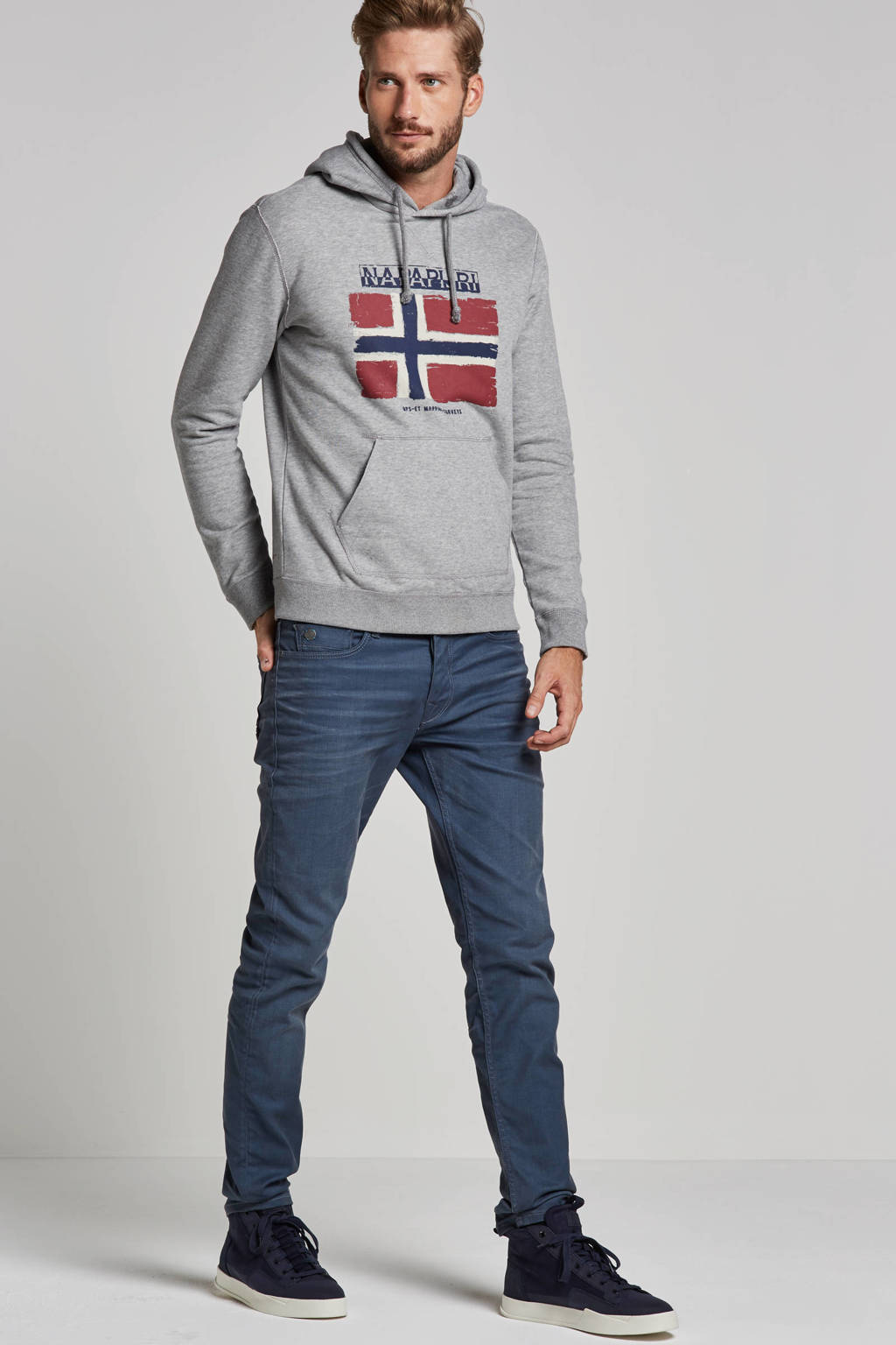 Cast Iron slim fit jeans Cope cope tapered grey, Cope tapered grey