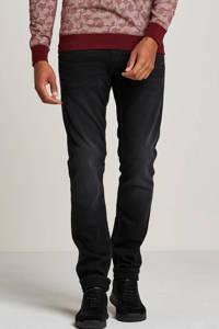 PME Legend slim straight fit jeans Nightflight zwart, Black Faded