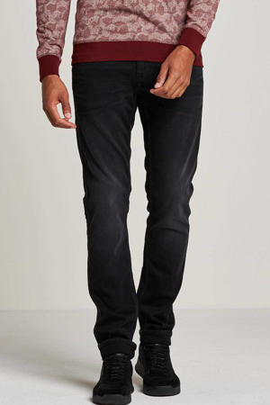 straight  fit jeans Nightflight zwart