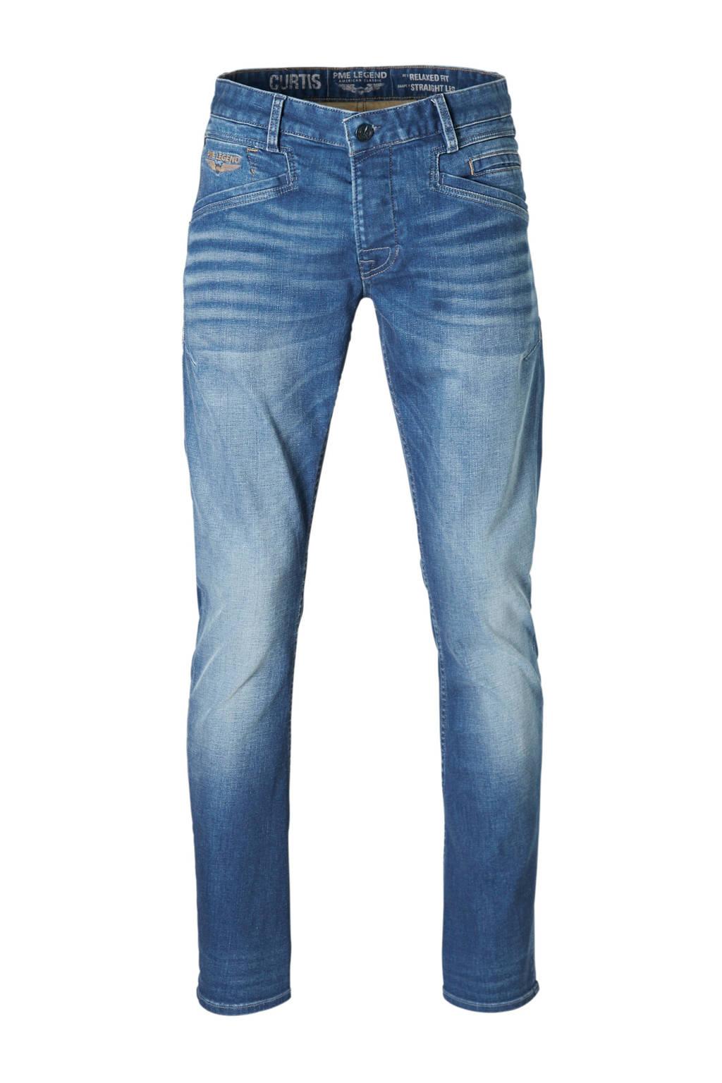 PME Legend straight fit jeans Curtis, Mid blue