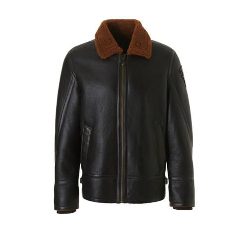 Leren jassen Pme Legend Lammy jacket 100% sheepskin d.brown