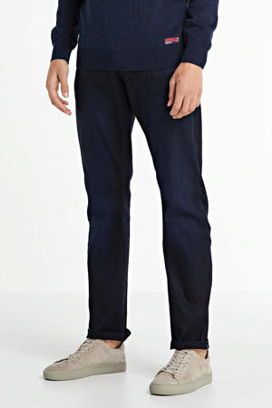 relaxed straight fit jeans Curtis donkerblauw