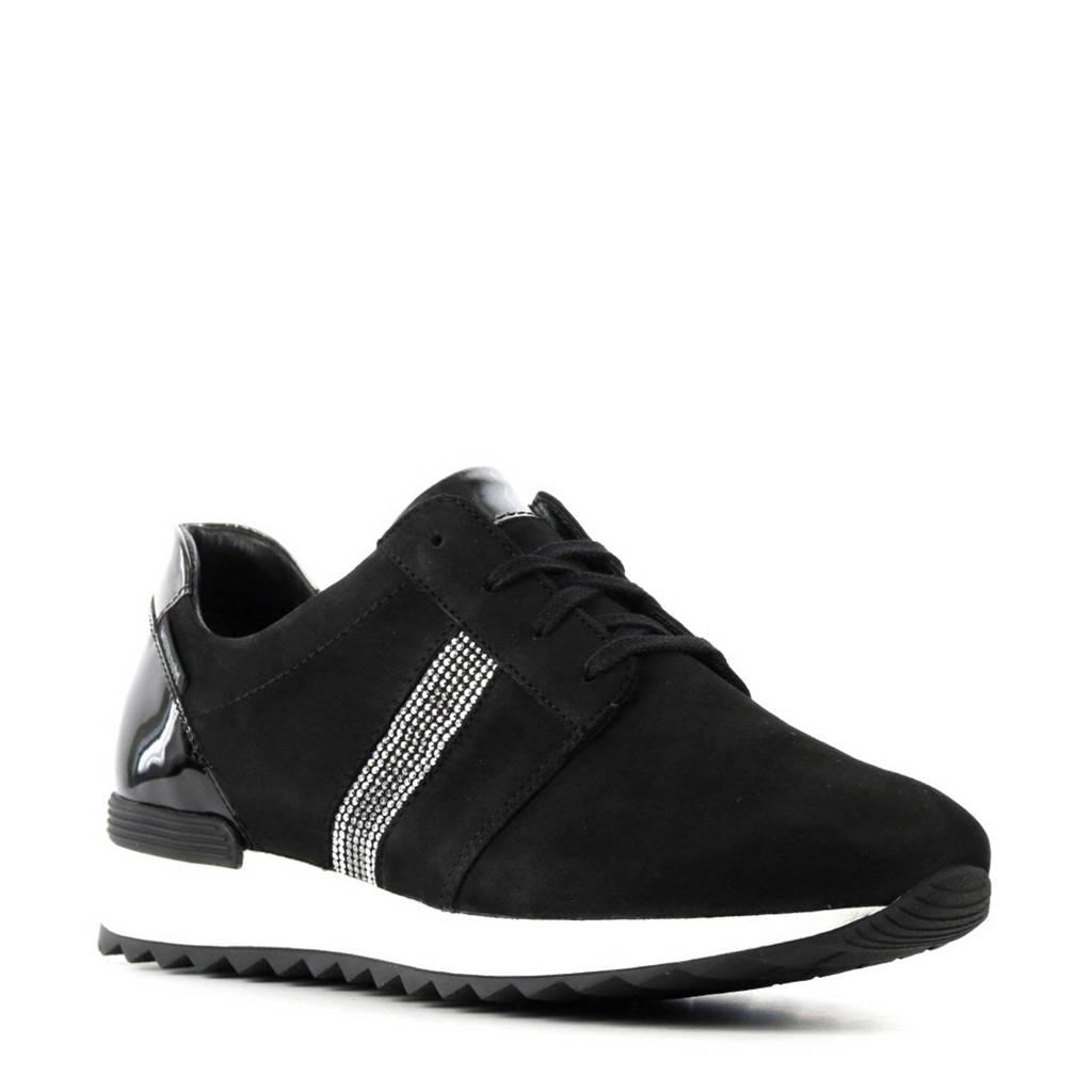 66a786c9b79 Mephisto Topazia suède sneakers met sierstenen | wehkamp