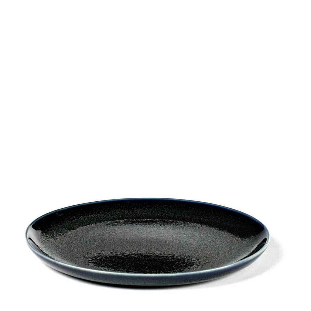 Serax Terres De Rêves gebaksbord (Ø13 cm), Dark Blue