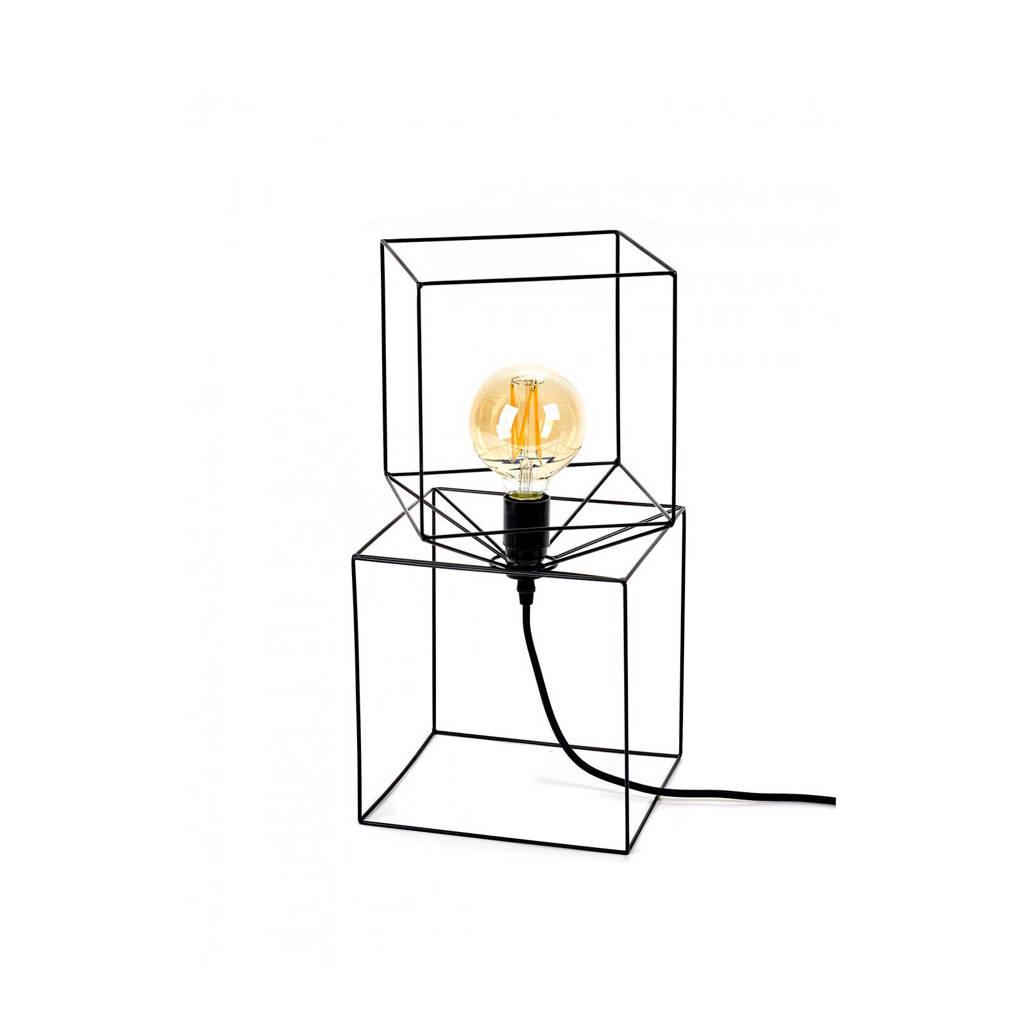 Serax tafellamp Trompe L'oeil, Zwart