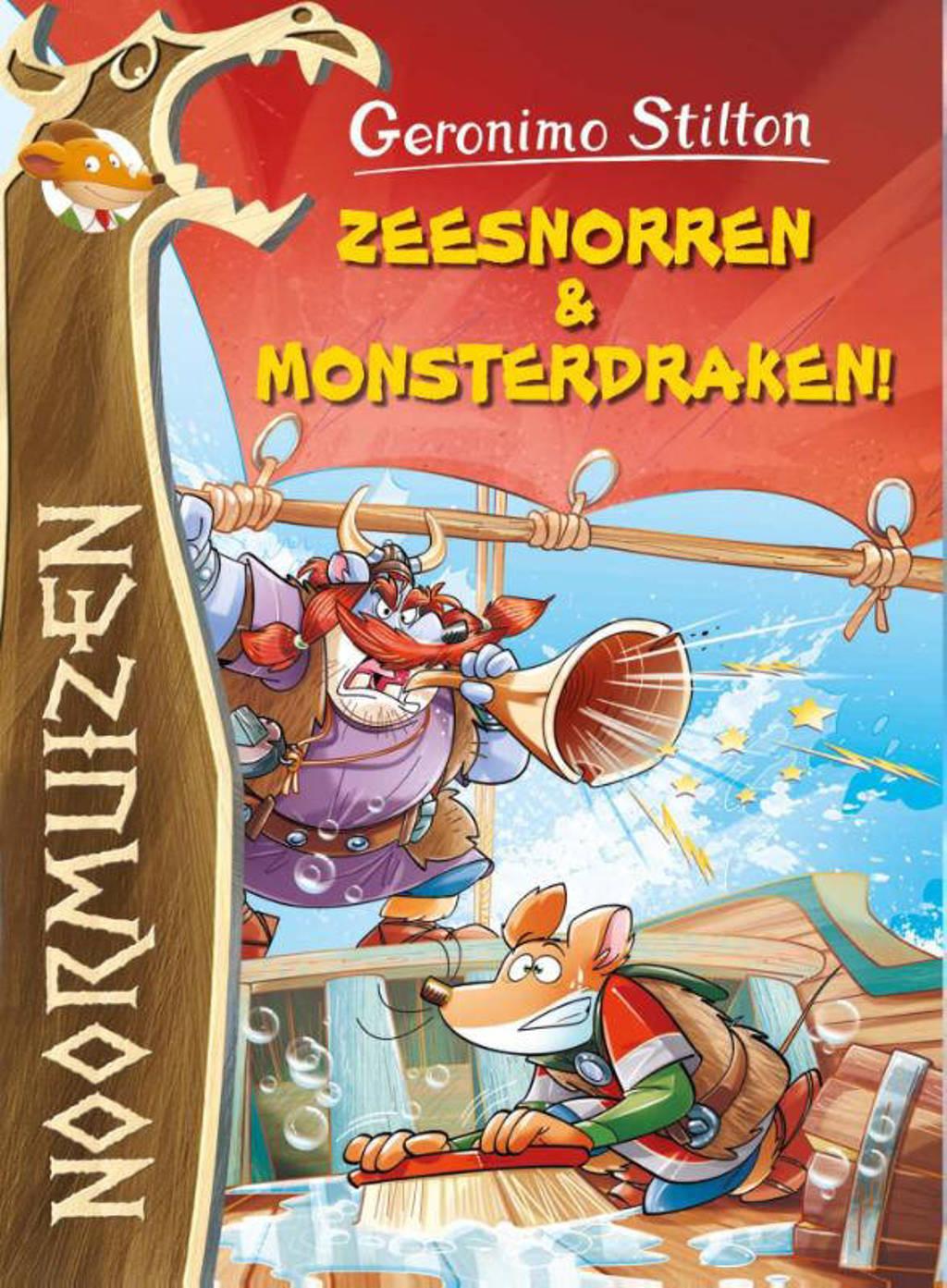 Zeesnorren en monsterdraken - Geronimo Stilton