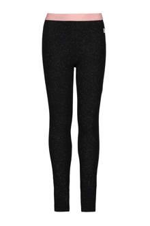 legging met glitters zwart