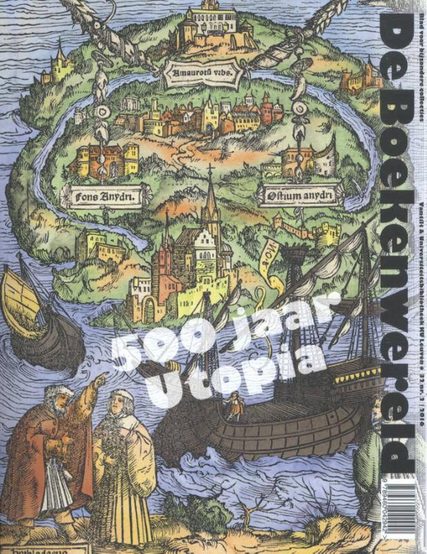 De Boekenwereld De Boekenwereld 32.2. 500 jaar Utopia - Gerard Wiegers