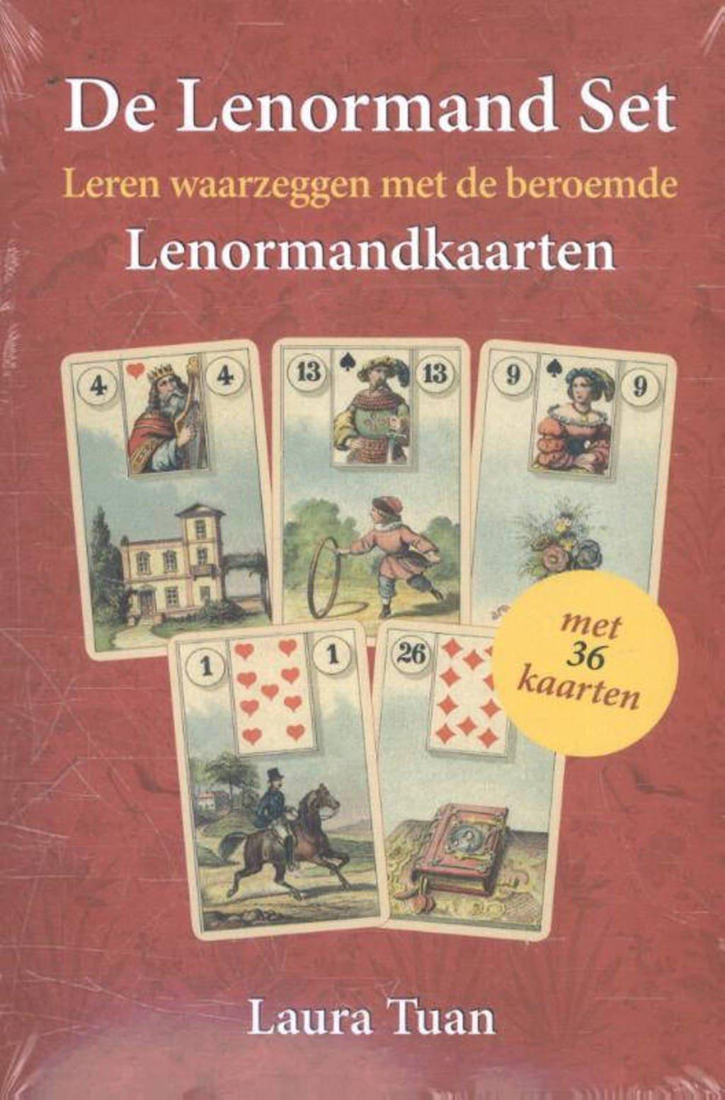 De Lenormand Set (boek + 36 kaarten) - Laura Tuan