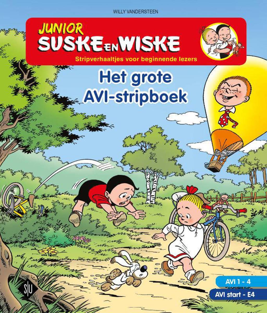 Junior Suske en Wiske: Het grote AVI stripboek - Willy Vandersteen